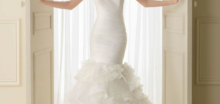 Ruffle Wedding Dresses – On Trend for 2017