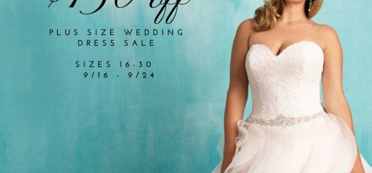 Plus Size Wedding Dress Sale – Save $150