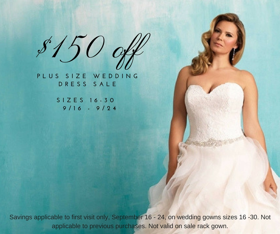 Plus Size Wedding Dress Sale Save 150 Garnet Grace Discount
