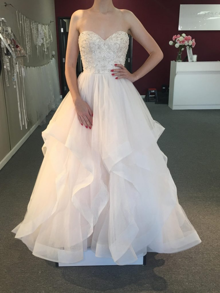 999 Wedding Dress Sale Nov 17 19 Garnet Grace Discount