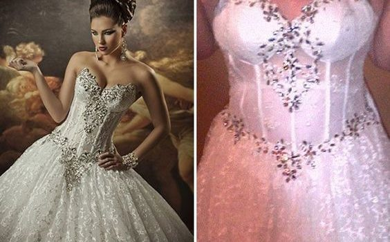 Brides Beware of Online Knock-Off Wedding Gowns!