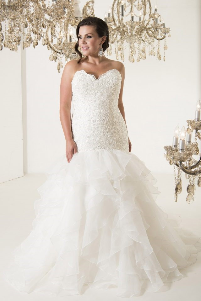 New Arrivals: Plus Size Wedding Dresses from Callista Bridal ...