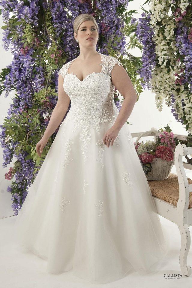 36913e7b40b0 New Arrivals: Plus Size Wedding Dresses from Callista Bridal ...