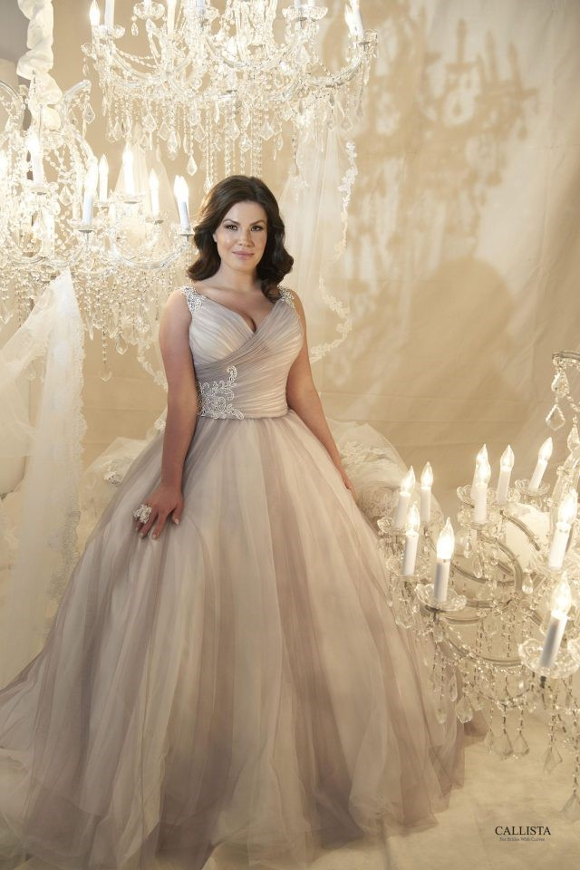 New Arrivals: Plus Size Wedding Dresses from Callista Bridal