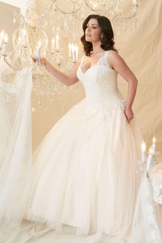 Cezanne Front Garnet Grace Discount Designer Wedding Dresses