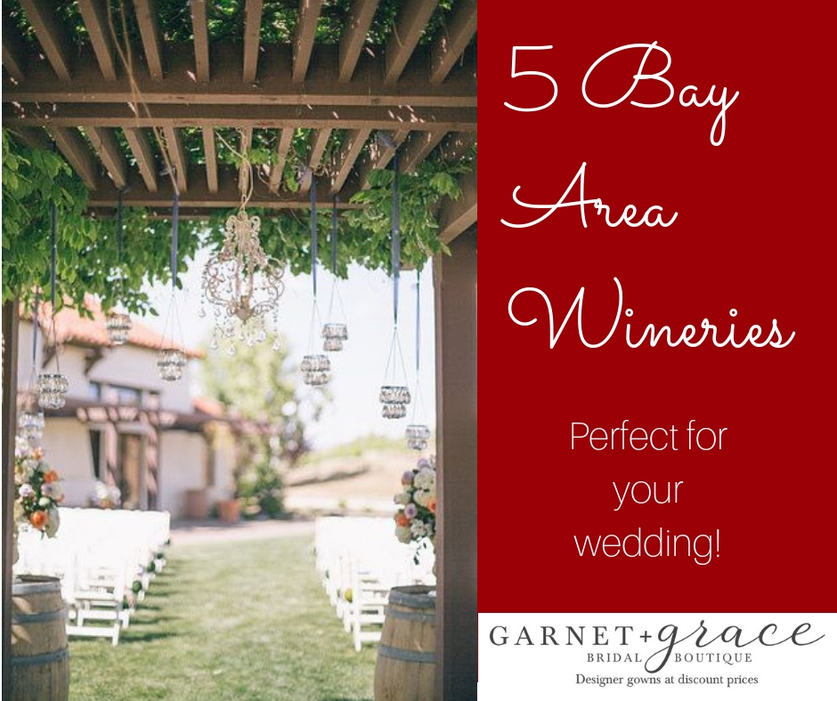 Check out our favorite 5 bay area winery wedding venues.