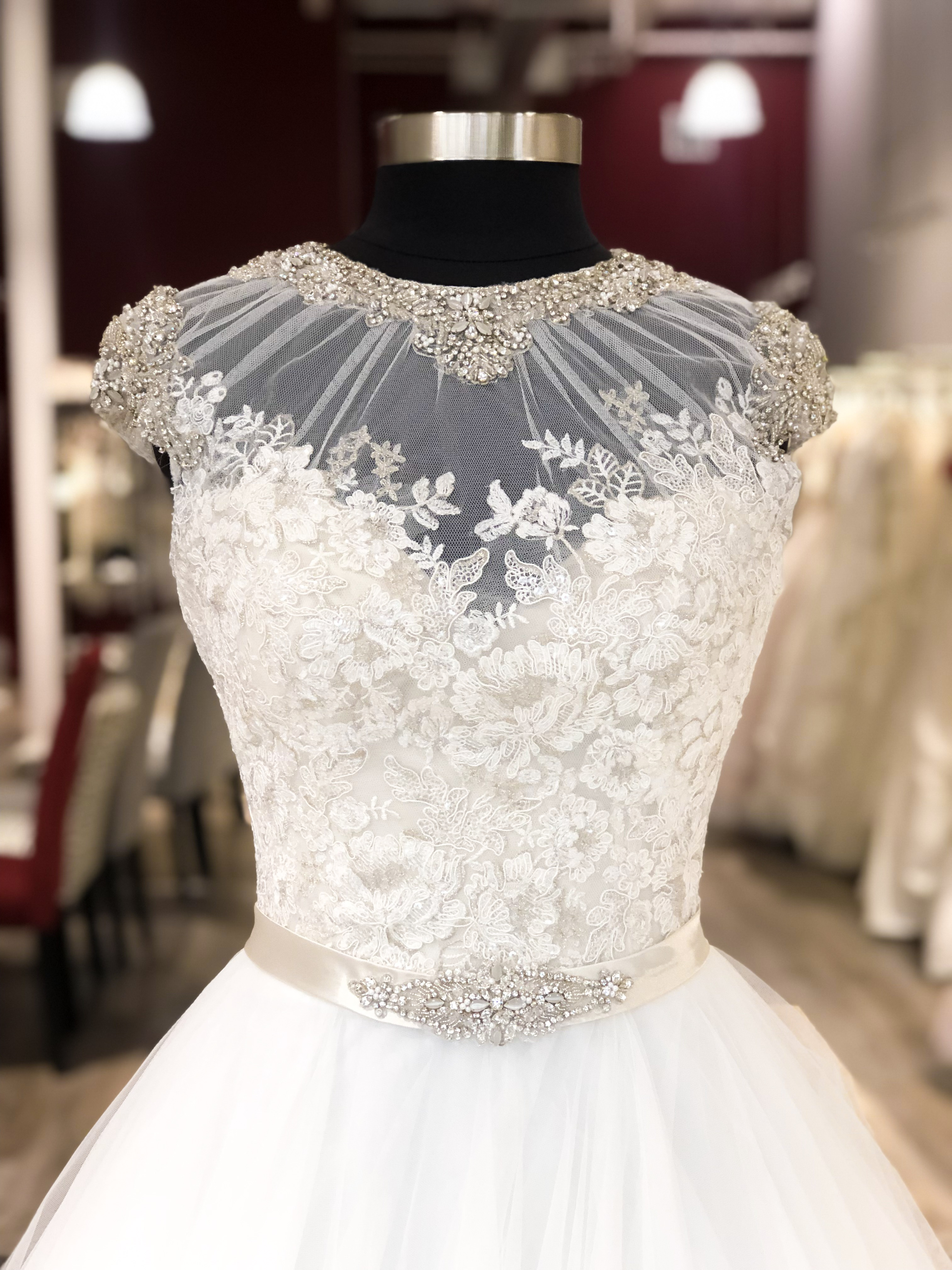off the rack bridal gown