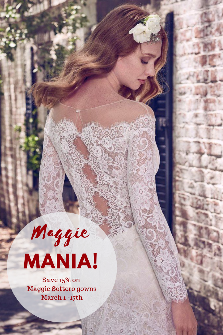 15% Off Maggie Sottero Wedding Dresses