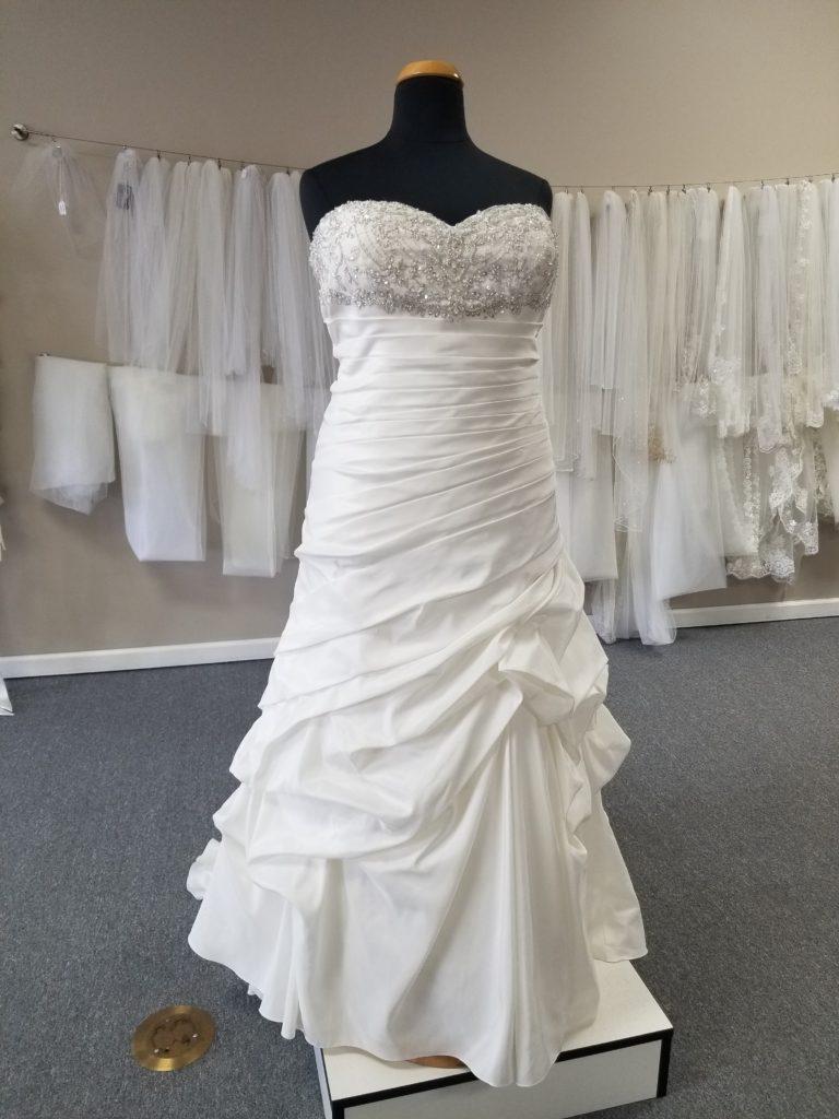 discount plus size wedding dress under $300 cheap wedding gown