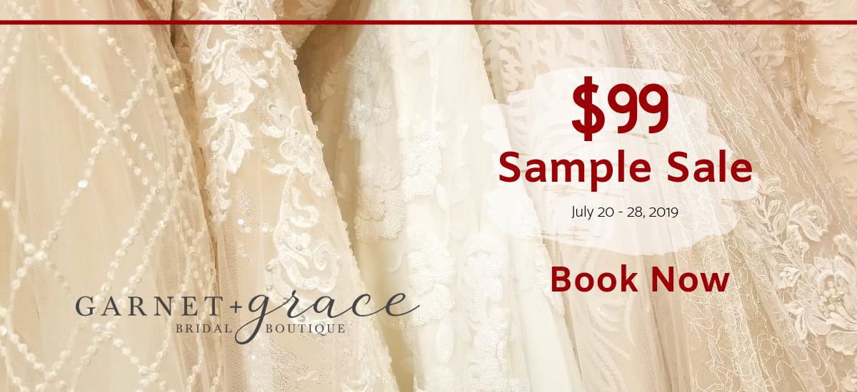 99 dollar wedding dress sample sale