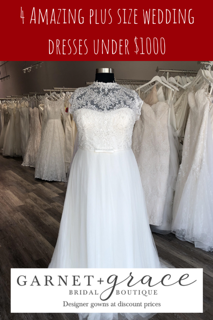 Plus Size Wedding Dresses for LESS! – GARNET + grace ...