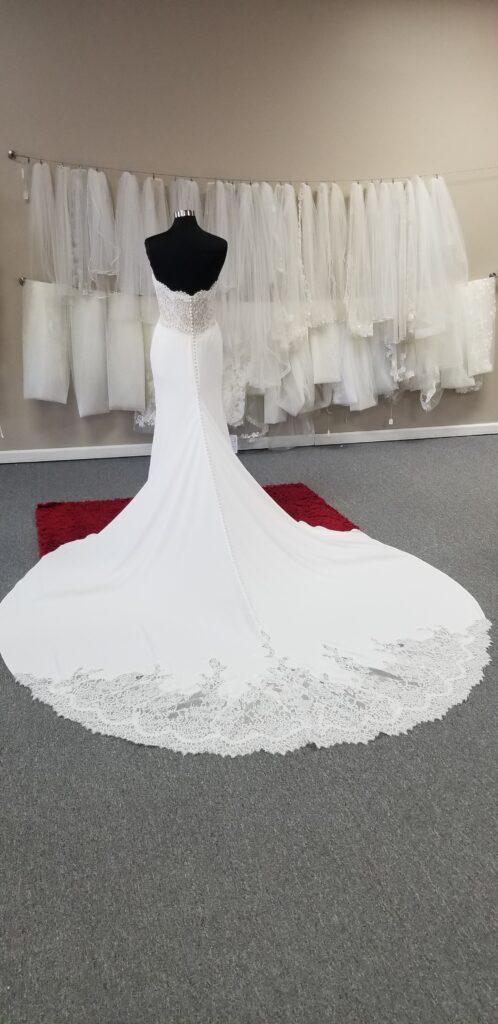 fancy-train-crepe-wedding-dress-discount-price-los-angeles-california