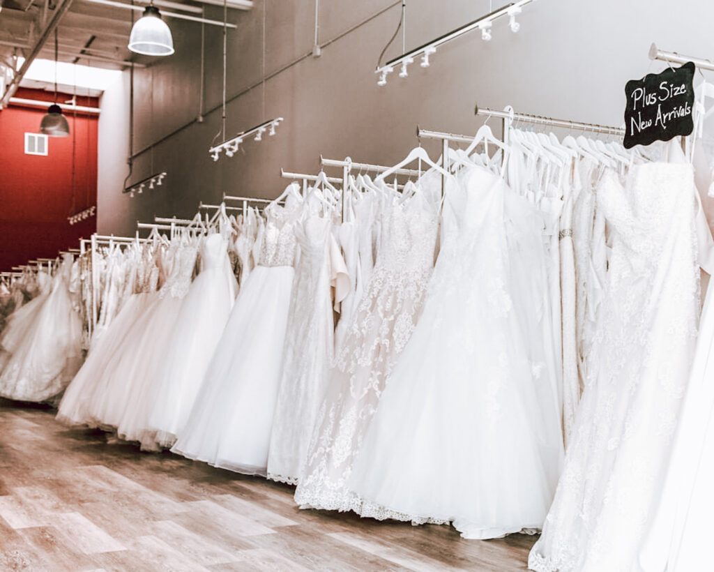 Wedding Dresses   GARNET + grace Bridal Salon