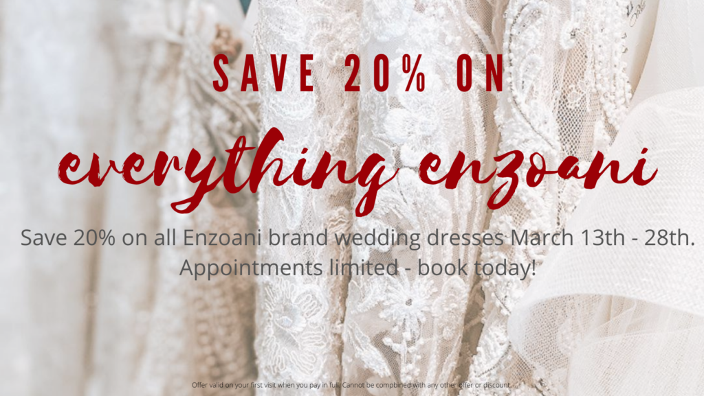 enzoani wedding dress sale image over wedding dresses